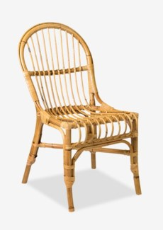 (LS) Natural Round Back Rattan Dining Chair-Honey Color-2 pcs/Box - Price shown for 1 pc only