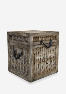 (LS) Seaton Trunk Rattan-Koboo Grey..(18x18x20)....