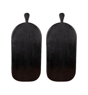"Madera 11.5"" Wood Serving Board-Set of 2"