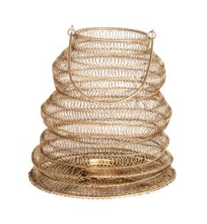 Everly Hanging Lantern(Lg), Antique Brass