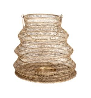 Everly Hanging Lantern(Med), Antique Brass