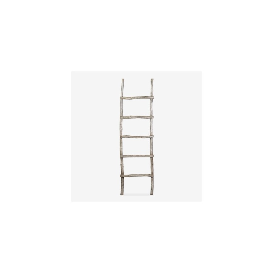Organic Decorative Ladder - Vintage Grey