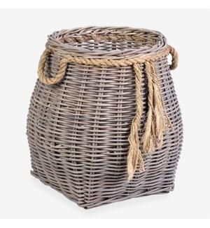 Goshen Rattan Basket - Small (13x13x17)