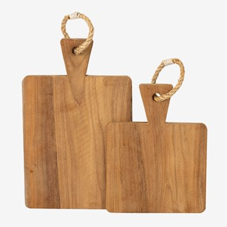Rifle Cutting Board Set of 2 with Rope Handle