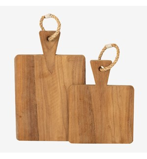 Rifle Serving Board, Rope Handle, Set2