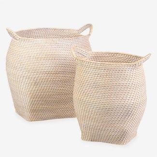 Sedona Basket - set of 2 ( 16.5x20x17.75 /  16.5x20x17.75)