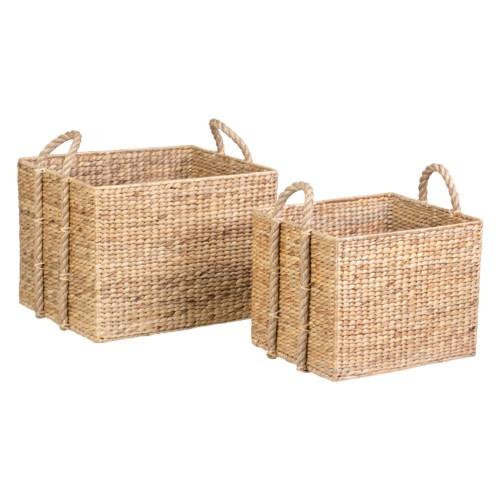 Tyler Basket - set of 2 ( 23x18x21 / 18x15x18)