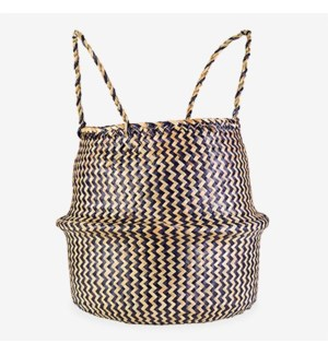 (26.92% Off) Collapsible Woven Basket - Brown