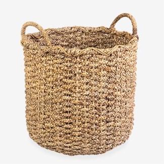 Aruna Round Basket
