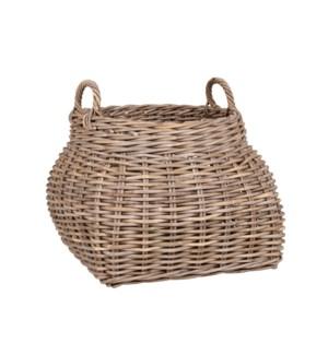 Buka Round Basket with Handles