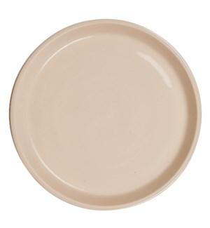 Bristol Stoneware Plate, Tan - L