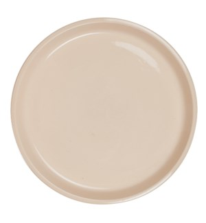 Bristol Stoneware Plate, Tan - M