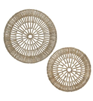 Kera Round Wall Décor, Set of 2