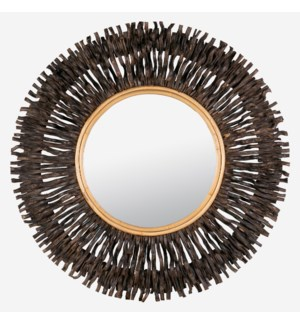 Malta Mirror-Black (47x3.5x47)