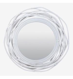 (SP) Dorset Mirror - White (35x3x35)