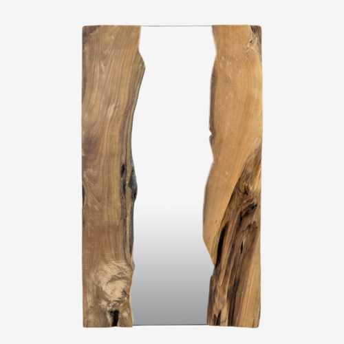 Live Edge Rectangle Mirror (39x1.5x24)