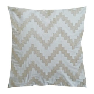 "Pillow 22"" X 22"" - Chunky dori tonal herringbone - Graphite (feather/down inserts)"