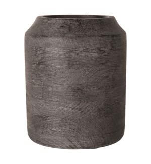 "Kasar 10"" Wood Vase"