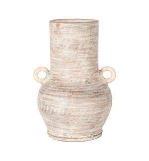 """Farrah 16.5"""" Vase, Terracotta"""