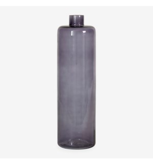 "13.5"" H Slender Glass Vase - Amethyst (2pc/min)"