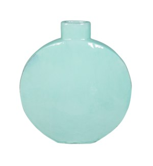 June Stoneware Vase, Blue - S