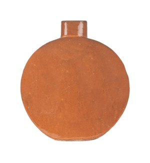 June Stoneware Vase, Orange - S