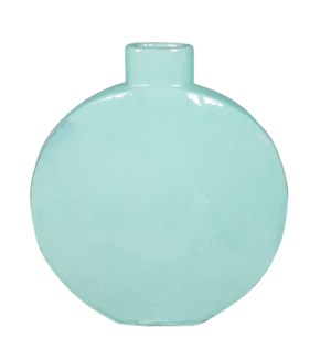 June Stoneware Vase, Blue - M