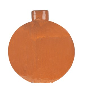 June Stoneware Vase, Orange - M