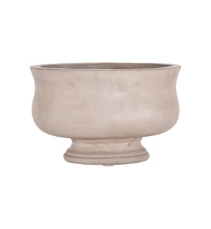 Elanor Decorative Concrete Bowl with Pedestal Base