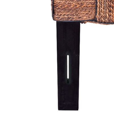 (LS) Headboard Abaca Wicker Mix A King (77x2x60)
