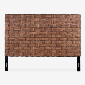 (LS) Headboard Abaca Wicker Mix A King (77x2x60)