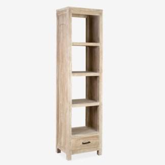 Josie Vertical Bookcase - Light Natural
