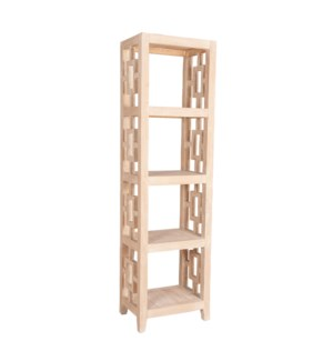 "Madison 20""W Tall Bookcase, Natural"