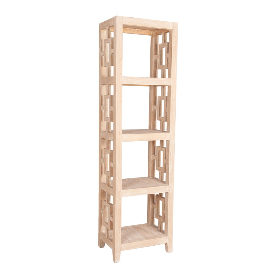 """Madison 20""""W Tall Bookcase, Natural"""