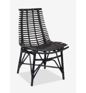 Franklin Side Chair- Antique Black (20x25x33)