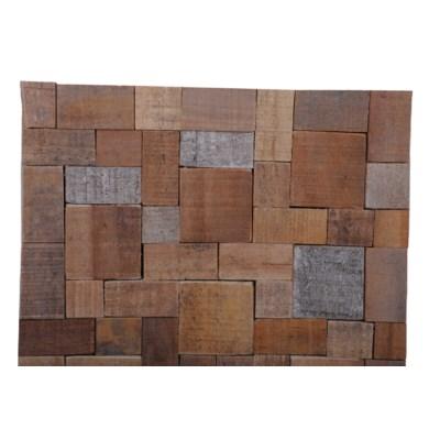 Kayu Mosaic  (15.75X15.75X0.39) = 1.72 sqft