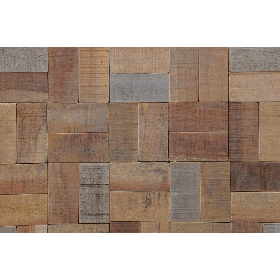 Kayu Basketweave - Natural  (11.81X11.81X0.39)  = 0.97 sqft