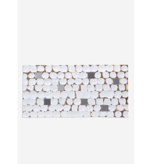 (LS) Fusion - White Patina (8.27X16.54X0.2) = .95 sqft