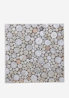 (LS) Riverbed Mosaic - Pearl (16.54X16.54X0.31) = 1.90 sqft