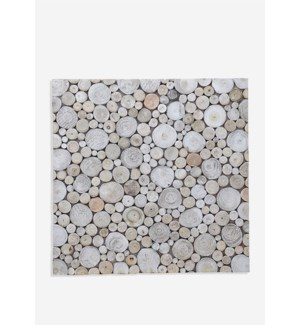 Riverbed Mosaic - Pearl (16.54X16.54X0.31) = 1.90 sqft