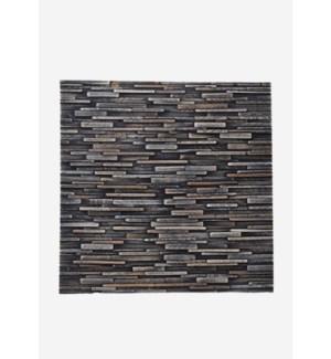 Valley Wood Mosaic - Mixed Slate (16.54X16.54X0.2)  = 1.90 sqft
