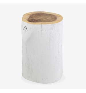 Cecile Wood Accent Table-Minimum Order Quantity 2 pcs, White Wash
