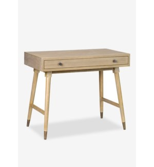 (LS) Whitmire Grey Rectangular Desk - KD..(36 X 20 X 25.2)