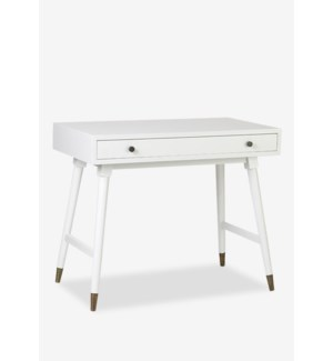 (LS) Whitmire White Rectangular Desk - KD..(36 X 20 X 25.2)