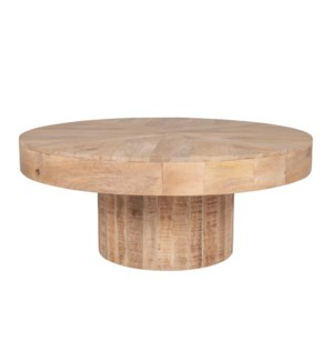 "Maison 37"" Round Coffee Table"