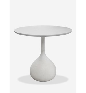 """32"""" Round Outdoor Dining Bistro Table -- Made of Reinforced Fiberglass Top..(32X32X29)...."""