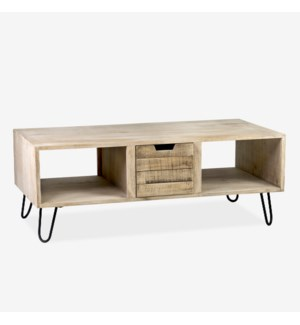 (29.94% Off) Britt 3 Drawer Coffee Table (47.6x27.5x17.7)