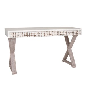 New Hampton X Console Desk (55x22x31) (K/D)