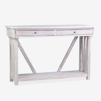 (SP) Wayne Console Table with Shelf..Dimension: 47x16x30