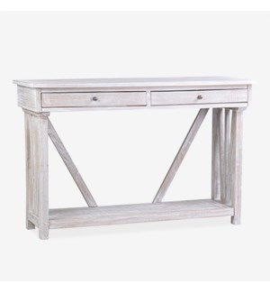(LS) Wayne Console Table with Shelf..Dimension: 47x16x30